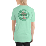 Prepped for Paradise™ Green & Pink Lightweight Cotton Short-Sleeve T-Shirt