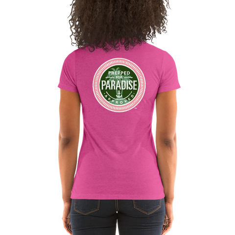 Prepped for Paradise Tri-blend short sleeve t-shirt