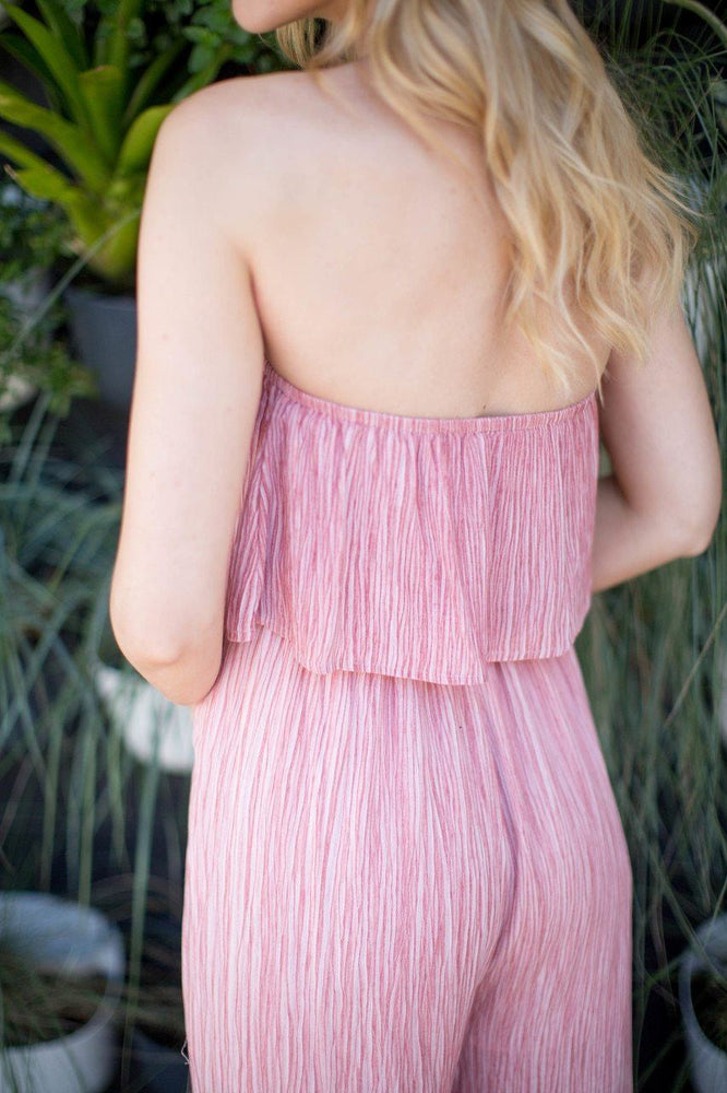 Callie Strapless Jumpsuit