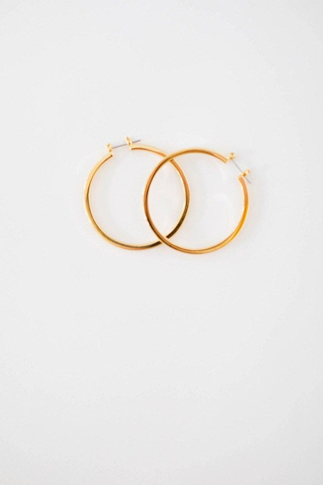 Holly Hoop Earring