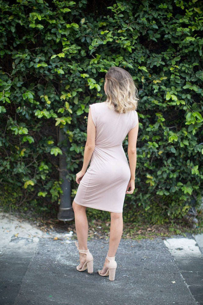 Janessa Cut Out Midi Dress