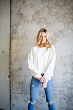 Kateryna Statement Sleeve Sweatshirt
