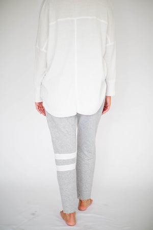 Zoey Stripe Sweatpant