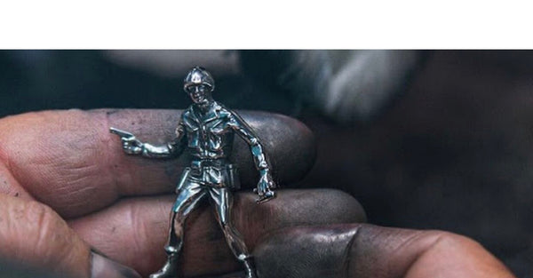 How the Silver Army Men are made in Los Angeles
