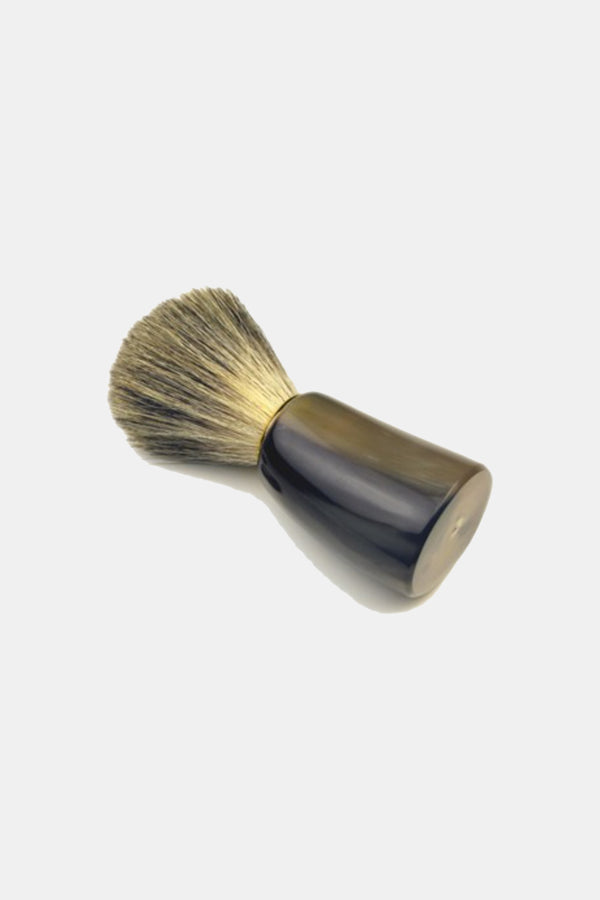 Ox Horn Handle Super Badger Bristle Shaving Brush