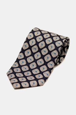 Hand Blocked Indian Paisley Tie