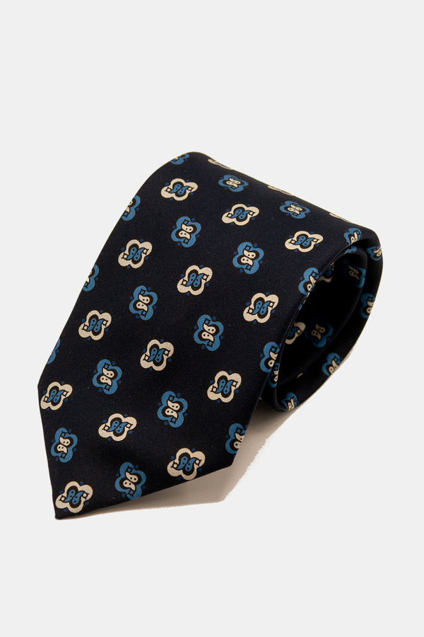 E. Marinella Archivio Collection Alternating Double Pine Tie