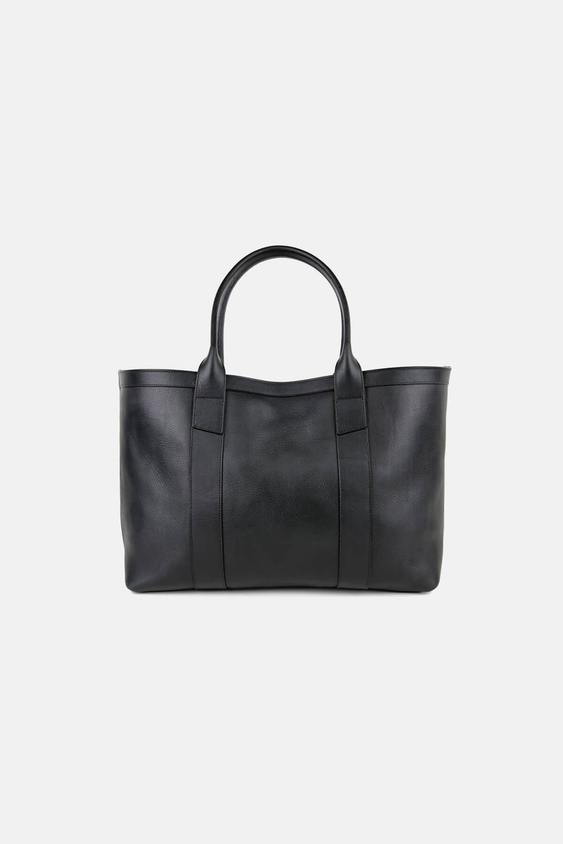 Large Leather Working Tote
