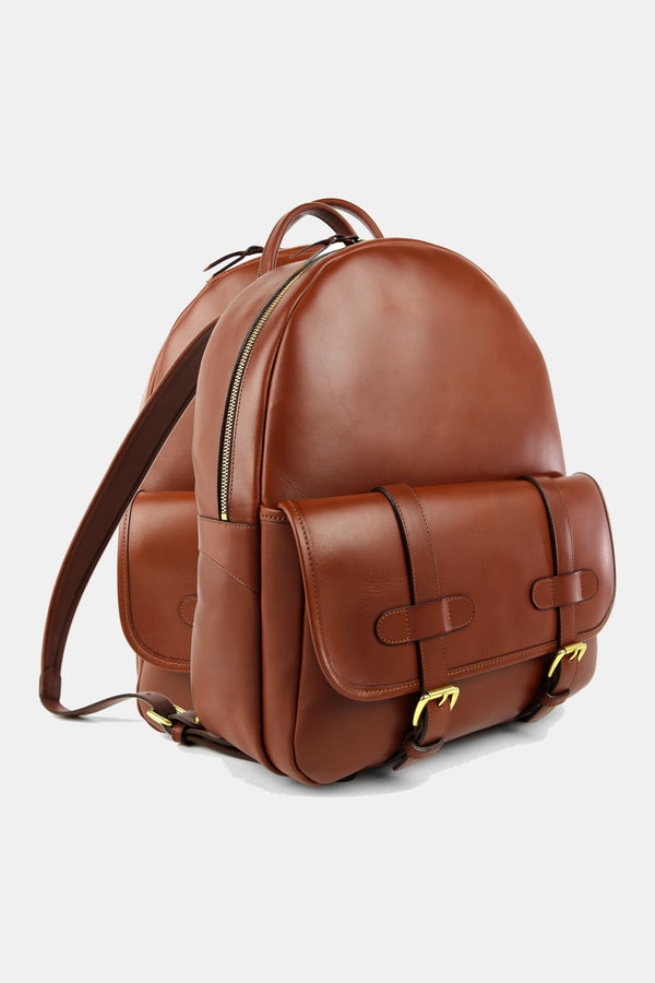 Frank Clegg Hampton Leather Back Pack