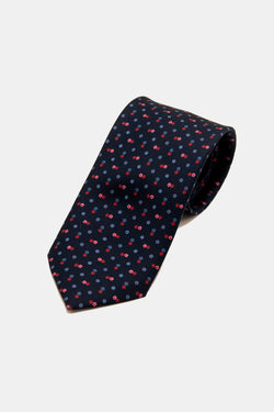 E. Marinella Art Deco Mini Floral Tie
