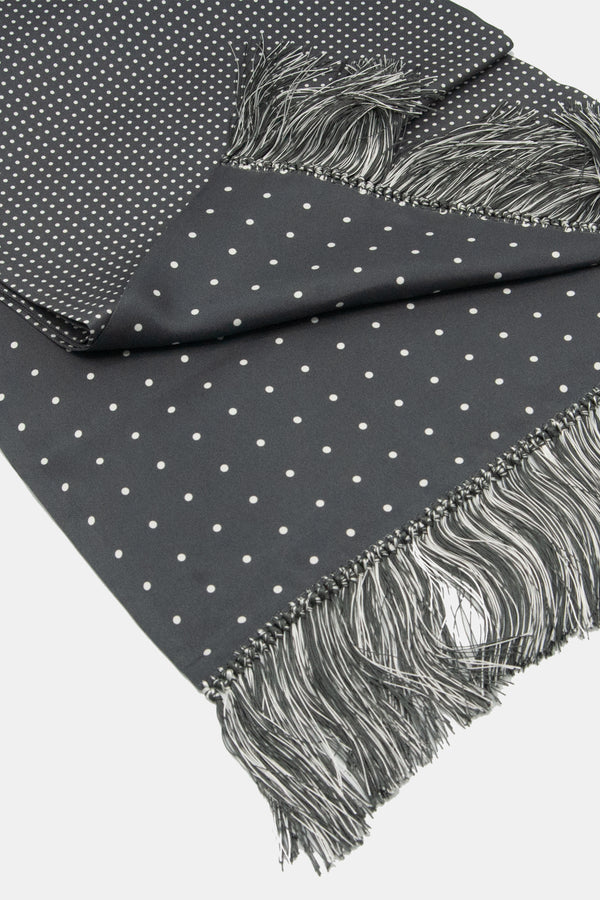 Maker Double Sided Multi Dot 36 oz. Silk Scarf