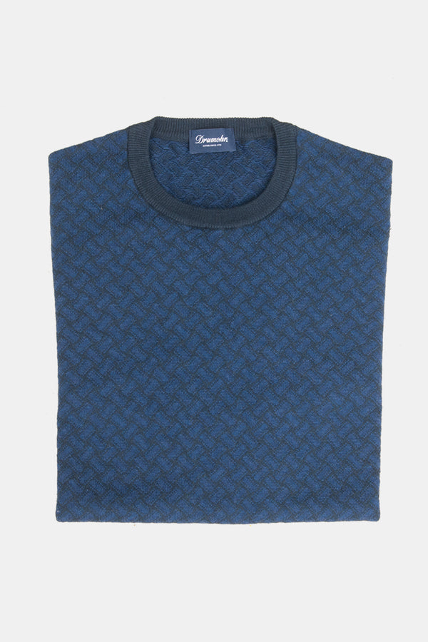 Drumohr Biscottino Knit Crewneck Sweater