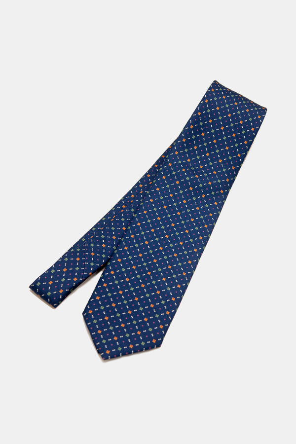 Royal Printed Floral Neat Tie