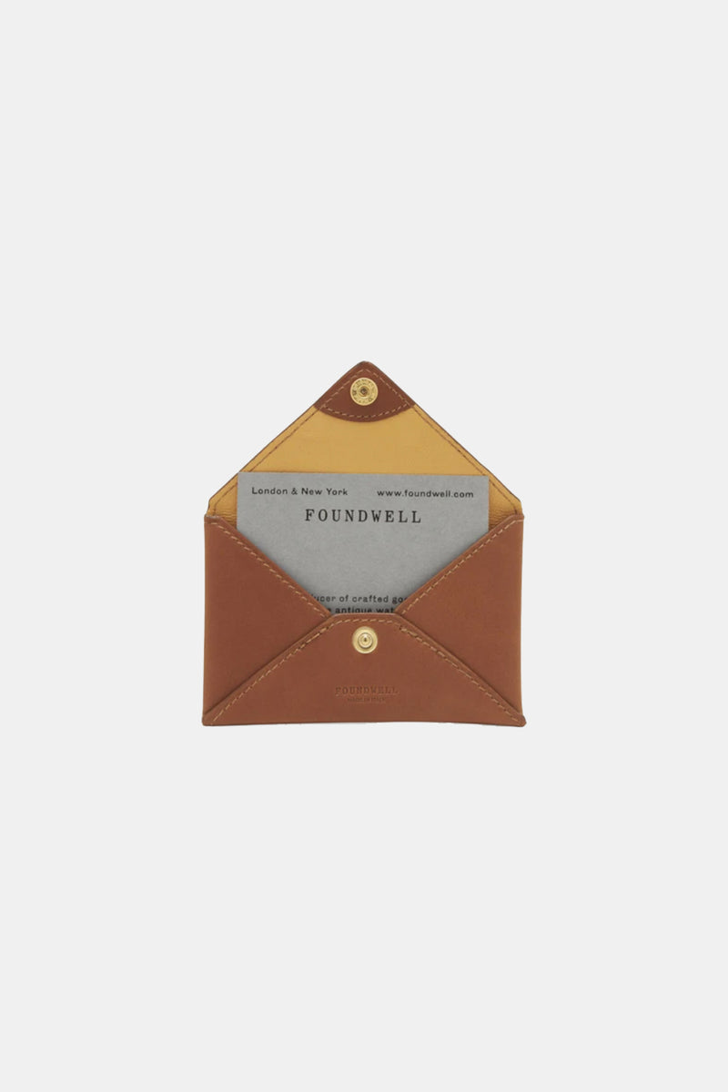 Foundwell Leather Business Card Case