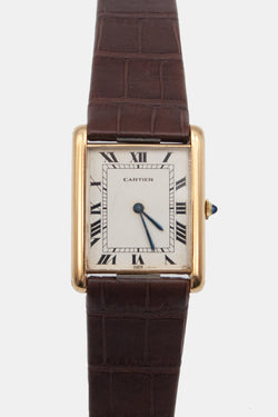 "Foundwell Vintage - 1975 Cartier Tank ""Jumbo"""