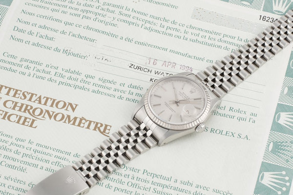 Foundwell Vintage - Rolex Oyster Perpetual Datejust 1993