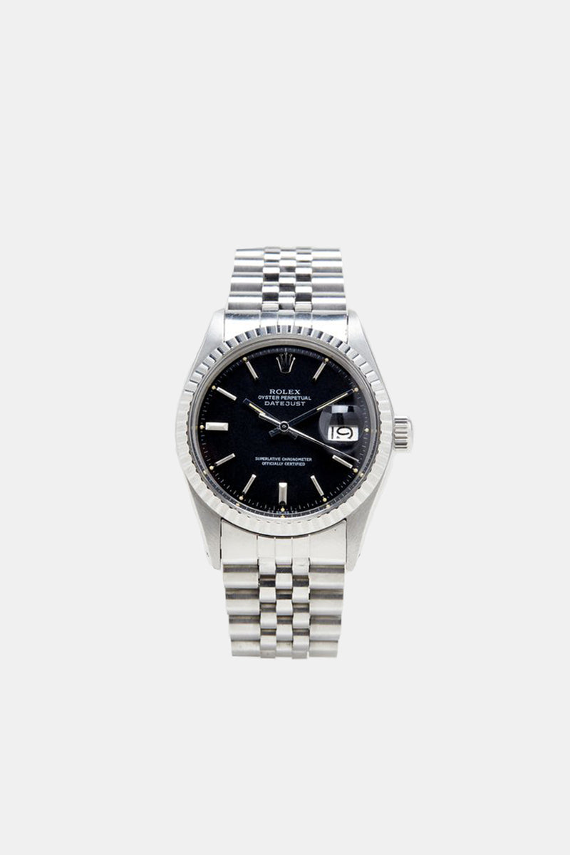 Foundwell Vintage - Rolex Datejust Black Sigma Dial