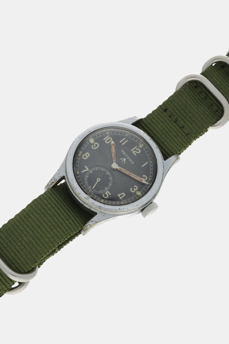 Foundwell Vintage - Record British Military Wristwatch