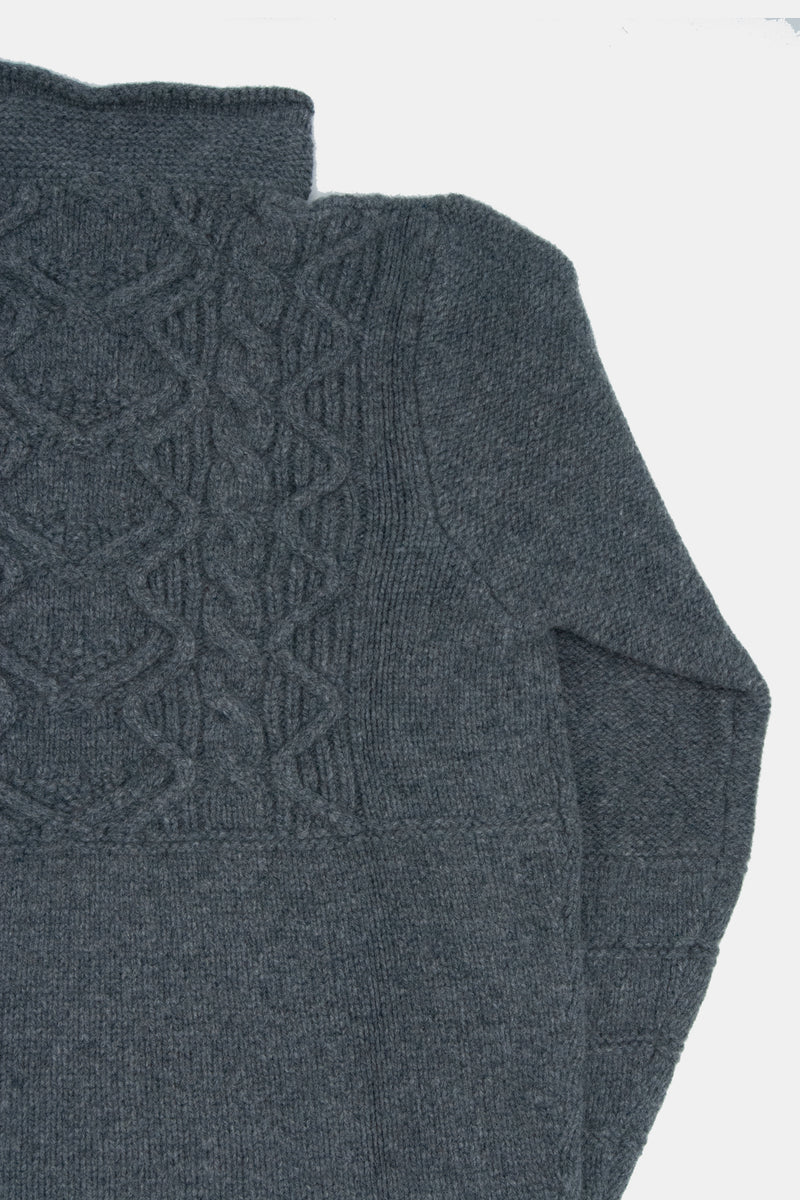 Maker & Inis Meain Collaboration Sweater: Tunic Aran
