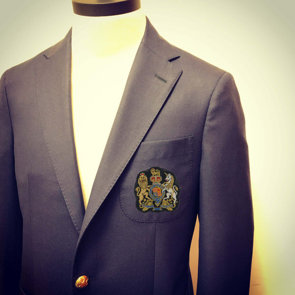 Waterman's Royal Arms Bullion Blazer Crest