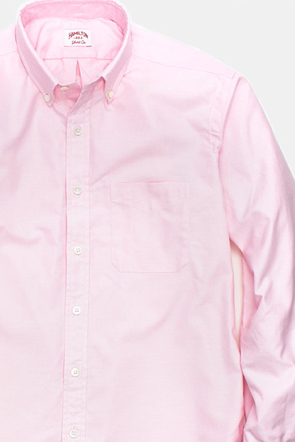 Hamilton Classic Oxford Shirt in Pink