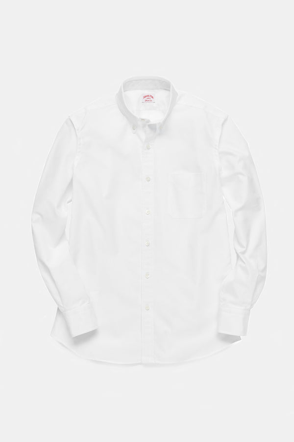 Hamilton Classic Oxford Shirt in White