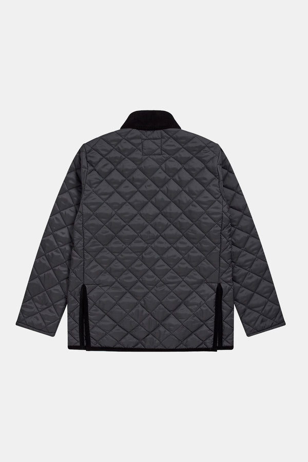 Lavenham Denham Quilted Jacket In Black