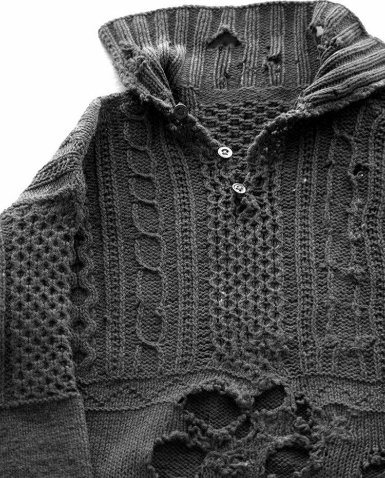 Maker & Inis Meain Collaboration Sweater: Mairtin Beag