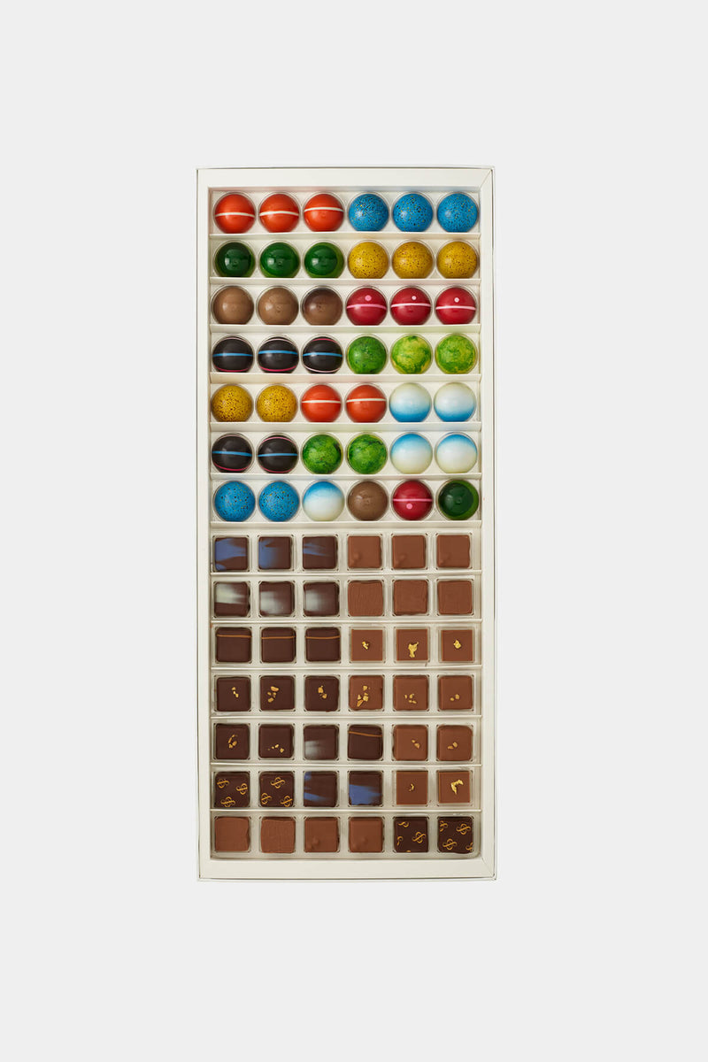 Artisan Chocolates 84 Piece Box