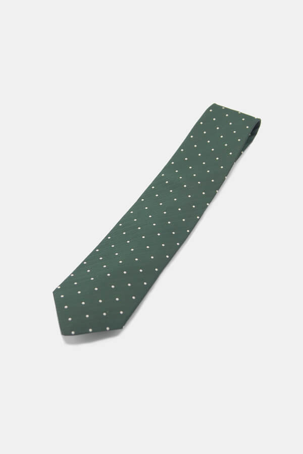 Herringbone Dot ties