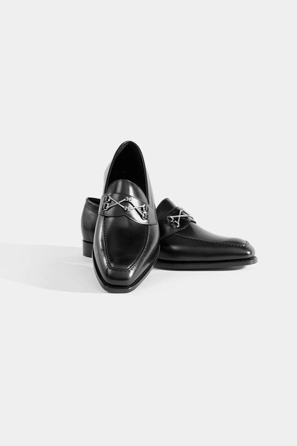 Barker Black Wolfe Loafer