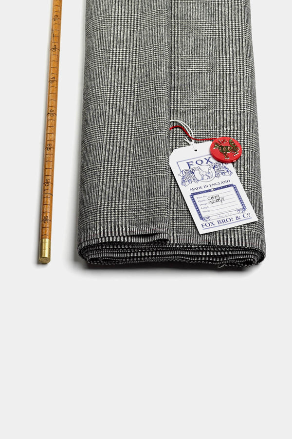 Classic Prince of Wales Wool Flannel (by the meter)