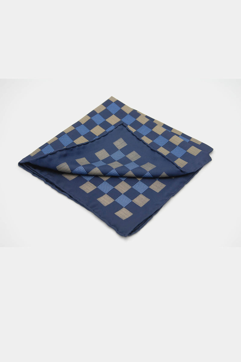 Art Deco Parquet Pocketsquare