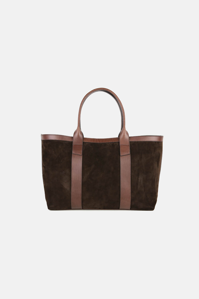 Large Suede Working Tote