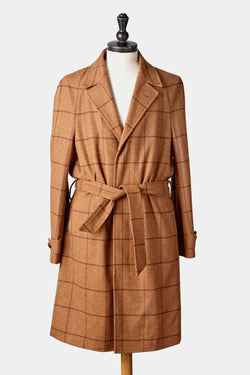 Windowpane Overcoat