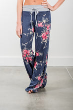 Load image into Gallery viewer, Floral Wide Leg Loungers