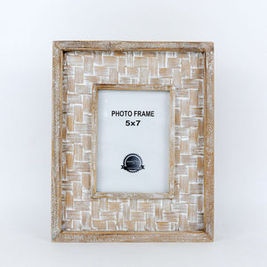 Bamboo Wood Frame - Tall