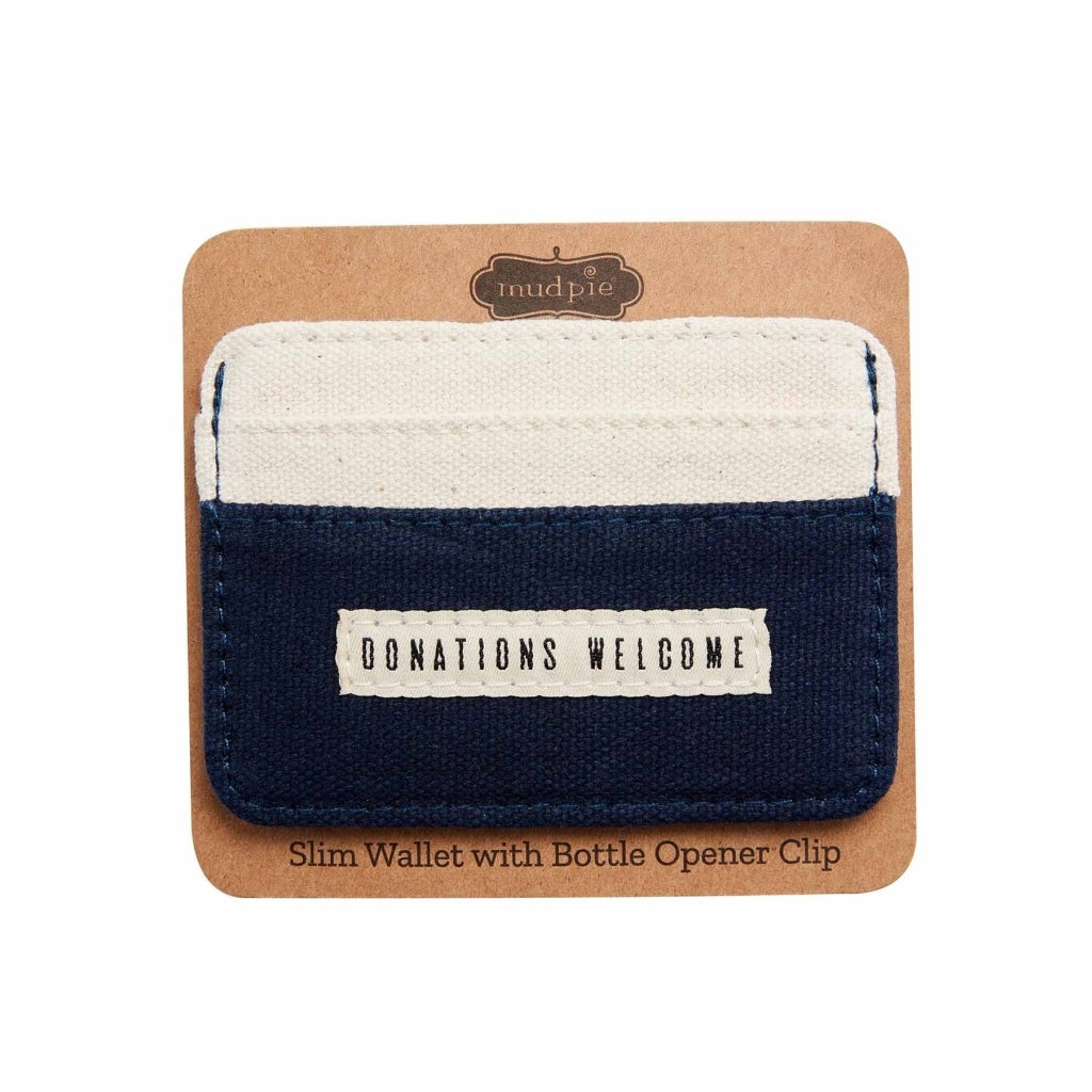 Donations Slim Wallet