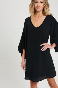Day To Night Dress- Black