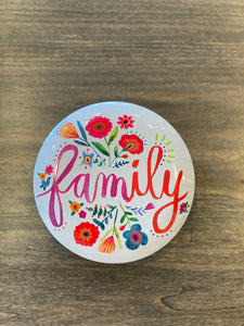 Large Candle Tin- Family