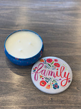 Load image into Gallery viewer, Large Candle Tin- Family