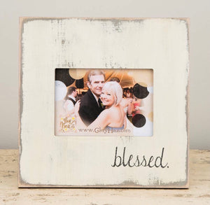 Blessed Distressed Picture Frame