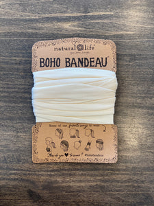Boho Bandeau- Solid Cream