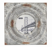 Load image into Gallery viewer, Distressed Tin Frame- Medium