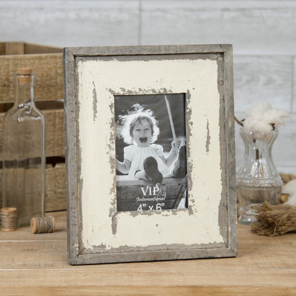 Distressed Tabletop Picture Frame