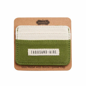 Thousand- Aire Slim Wallet
