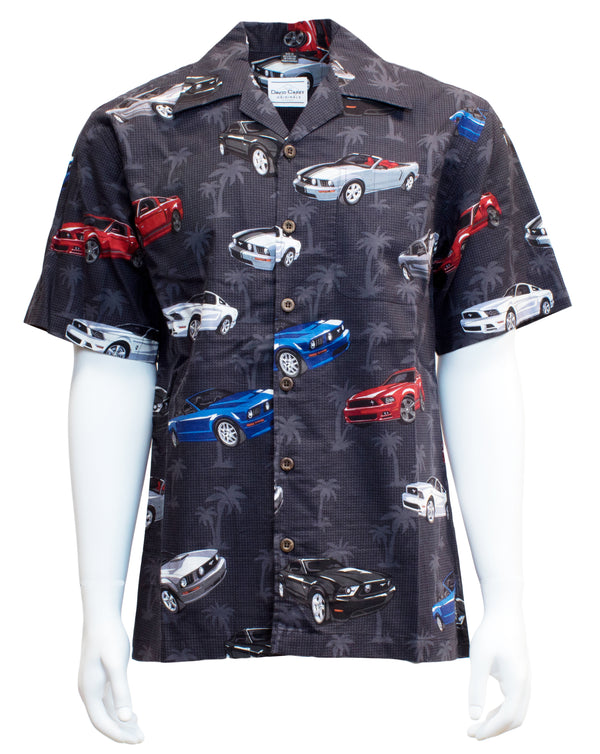 Ford New Mustangs Camp Shirt