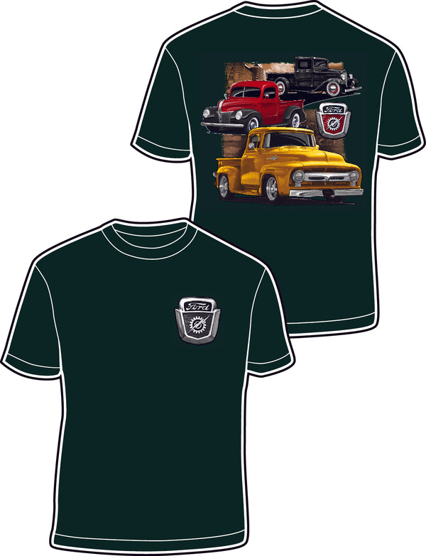 Ford 3 Trucks T-Shirt