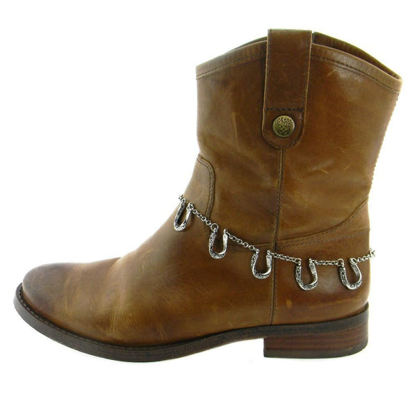 5 Horse Shoe Boot Chain - Boot Accessories