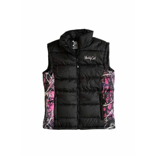 Black Aircor Vest | Muddy Girl Camo - Womens Outerwear